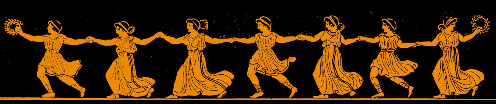 фигуры в танце.