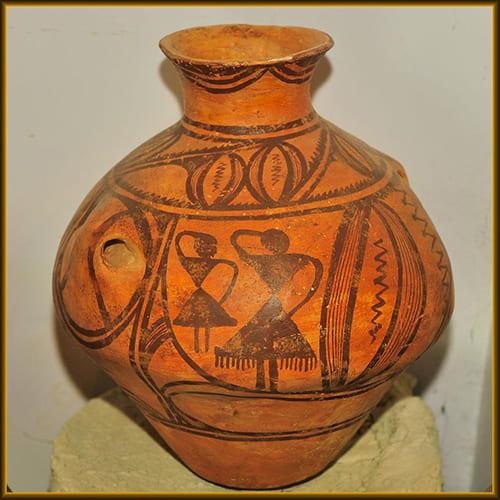 Трипольская керамика. Изображение танца