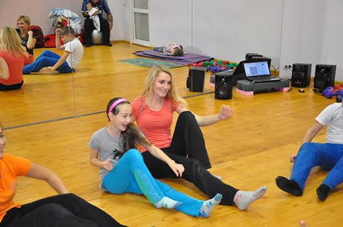 фото3 с занятия танец Чувств